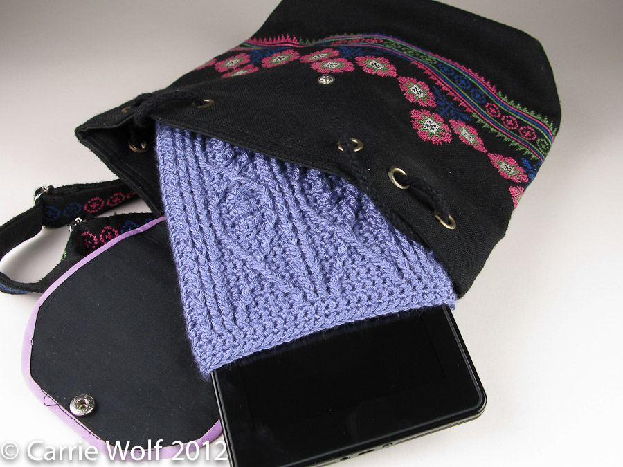 Crochet Kindle Fire Cover Pattern Carriewolf