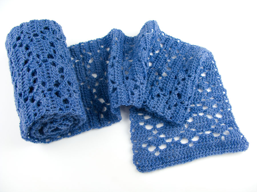 Free Crochet Scarf Patterns Page 1