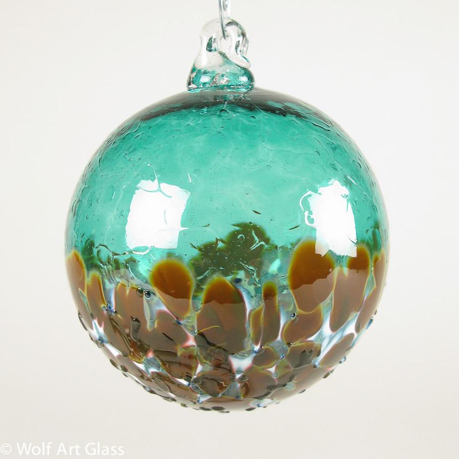 Christmas ornaments glass - Blown Glass Ornament Suncatchers By Wolfartglass