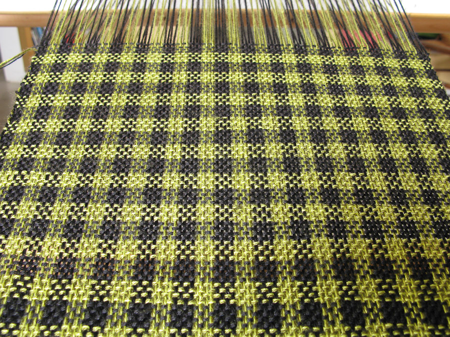 Rigid Heddle Weaving Pattern Houndstooth Check Carriewolf