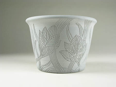 Art Nouveau Crocus Bowl
