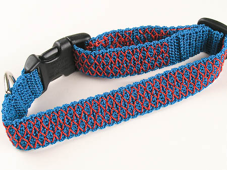 Smocked Crochet Dog Collar