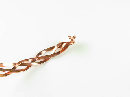 Braided Copper Circlet Tutorial