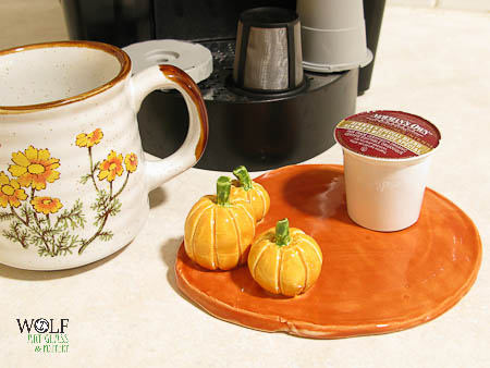 Pottery Pumpkin Patch Dish