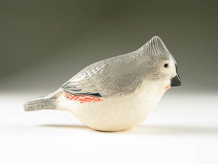 Pottery Song Bird Tufted Titmouse