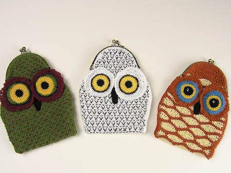 Crochet Owl iPhone Pouch