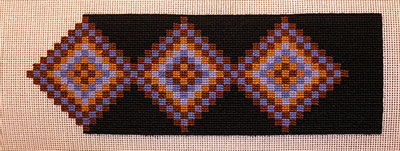 carrie wolf needlepoint ~ anticipation