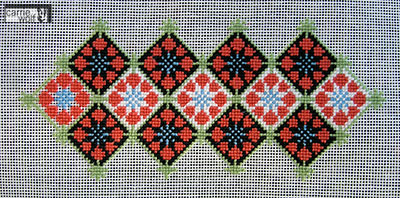 carrie wolf needlepoint ~ jubilation