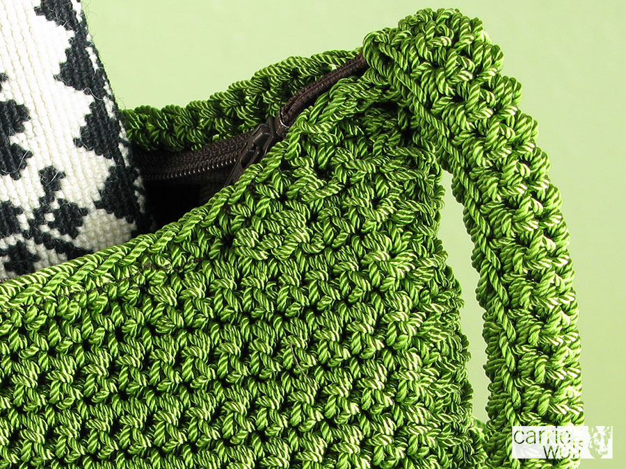 How to Crochet a Cradle Purse Pattern | eHow.com